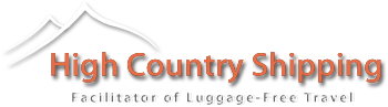 welcome to High Country Shipping's Bike and Luggage Shipping and Delivery home page