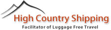 welcome to High Country Shipping's mobile home page